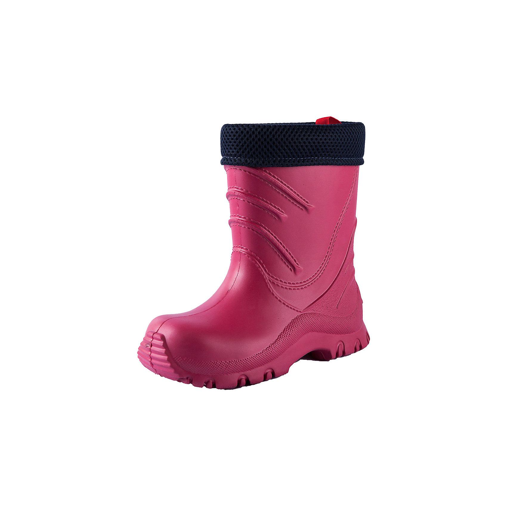 Резиновые сапоги Reima FrilloРезиновые сапоги<br>Характеристики товара:<br><br>• цвет: розовый;<br>• внешний материал: ЭВА;<br>• внутренний материал: текстиль;<br>• стелька: текстиль;<br>• подошва: ЭВА;<br>• сезон: демисезон;<br>• температурный режим: от 0 до +15С;<br>• водонепроницаемая демисезонная обувь;<br>• простой в уходе материал верха;<br>• эластичная и легкая подошва из ЭВА;<br>• текстильная подкладка;<br>• съемный внутренний сапожок;<br>• не содержит ПВХ;<br>• страна бренда: Финляндия;<br>• страна производства: Италия.<br><br>Суперлегкие резиновые сапоги Frillo к прогулке готовы! Сапоги изготовлены из очень легкого, полностью водонепроницаемого материала, не содержащего ПВХ. Эта модель легко надевается и снабжена удобным съемным носком, который можно стирать. <br><br><br>Резиновые сапоги Frillo Reima (Рейма) можно купить в нашем интернет-магазине.<br><br>Ширина мм: 237<br>Глубина мм: 180<br>Высота мм: 152<br>Вес г: 438<br>Цвет: розовый<br>Возраст от месяцев: 84<br>Возраст до месяцев: 96<br>Пол: Унисекс<br>Возраст: Детский<br>Размер: 34/35,22/23,24/25,26/27,28/29,30/31,32/33<br>SKU: 6906676