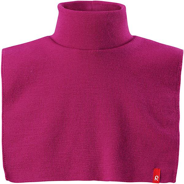 Манишка Reima Star для девочкиШапки и шарфы<br>Характеристики товара:<br><br>• цвет: розовый;<br>• состав: 100% шерсть;<br>• подкладка: 97% хлопок, 3% эластан;<br>• температурный режим: от 0 до -20С;<br>• сезон: зима; <br>• особенности модели: вязаная, шерстяная;<br>• мягкая ткань из мериносовой шерсти для поддержания идеальной температуры тела;<br>• частичная подкладка: хлопчатобумажная ткань ;<br>• логотип Reima спереди;<br>• страна бренда: Финляндия;<br>• страна изготовитель: Китай.<br><br>Красивая и мягкая шерстяная горловина с изумительным вязаным узором снабжена изнутри подкладкой из хлопкового трикотажа, так что не будет колоться или раздражать кожу. Во время игр на улице теплая горловина обеспечивает дополнительную защиту шеи и верхней части груди.<br><br>Манишку Reima Star от финского бренда Reima (Рейма) можно купить в нашем интернет-магазине.<br>Ширина мм: 88; Глубина мм: 155; Высота мм: 26; Вес г: 106; Цвет: розовый; Возраст от месяцев: 36; Возраст до месяцев: 48; Пол: Женский; Возраст: Детский; Размер: 50/52,46/48; SKU: 6907251;