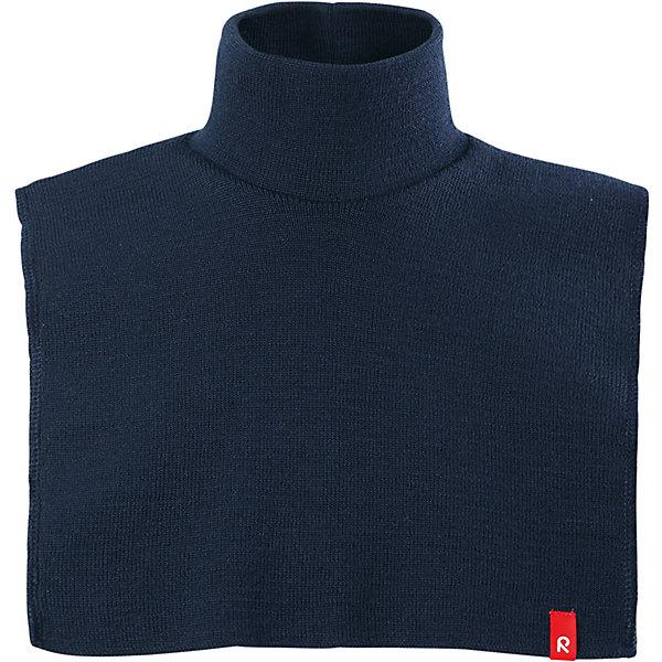 Манишка Reima Star для мальчикаШарфы, платки<br>Характеристики товара:<br><br>• цвет: синий;<br>• состав: 100% шерсть;<br>• подкладка: 97% хлопок, 3% эластан;<br>• температурный режим: от 0 до -20С;<br>• сезон: зима; <br>• особенности модели: вязаная, шерстяная;<br>• мягкая ткань из мериносовой шерсти для поддержания идеальной температуры тела;<br>• частичная подкладка: хлопчатобумажная ткань ;<br>• логотип Reima спереди;<br>• страна бренда: Финляндия;<br>• страна изготовитель: Китай.<br><br>Красивая и мягкая шерстяная горловина с изумительным вязаным узором снабжена изнутри подкладкой из хлопкового трикотажа, так что не будет колоться или раздражать кожу. Во время игр на улице теплая горловина обеспечивает дополнительную защиту шеи и верхней части груди.<br><br>Манишку Reima Star от финского бренда Reima (Рейма) можно купить в нашем интернет-магазине.<br>Ширина мм: 88; Глубина мм: 155; Высота мм: 26; Вес г: 106; Цвет: синий; Возраст от месяцев: 9; Возраст до месяцев: 12; Пол: Мужской; Возраст: Детский; Размер: 46/48,50/52; SKU: 6907254;