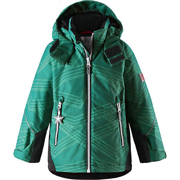 Куртка Grane Reimatec® ReimaВерхняя одежда<br>Характеристики товара:<br><br>• цвет: зеленый;<br>• состав: 100% полиэстер;<br>• утеплитель: 160 г/м2;<br>• сезон: зима;<br>• температурный режим: от 0 до -20С;<br>• водонепроницаемость: 8000 мм;<br>• воздухопроницаемость: 7000 мм;<br>• износостойкость: 30000 циклов (тест Мартиндейла);<br>• водо и ветронепроницаемый, дышащий и грязеотталкивающий материал;<br>• все швы проклеены и водонепроницаемы;<br>• безопасный съемный капюшон на кнопках;<br>• застежка: молния с защитой подбородка от защемления;<br>• прочные усиленные вставки на рукавах и спинке;<br>• гладкая подкладка из полиэстера;<br>• регулируемые манжеты рукавов на липучке;<br>• регулируемый подол и талия;<br>• два кармана на молнии;<br>• логотип Reima® на рукаве и внизу спины;<br>• светоотражающие элементы;<br>• страна бренда: Финляндия;<br>• страна производства: Китай.<br><br>Сверхпрочная зимняя куртка Reimatec ® Kiddo. Куртка с капюшоном Reimatec ® Kiddo изготовлена из износостойкого, дышащего, водо и ветронепроницаемого материала с водо и грязеотталкивающей поверхностью. Все швы проклеены, водонепроницаемы. Рукава и спинка снабжены прочными усилениями, которые защищают участки, больше всего подверженные износу во время подвижных игр и катания на санках. <br><br>У куртки прямой покрой с регулируемой талией и подолом, так что силуэт можно сделать более облегающим. Концы рукавов тоже регулируются застежкой на липучке, как раз под ширину перчаток. Съемный капюшон защищает от холодного ветра, а еще обеспечивает дополнительную безопасность во время игр на улице. Куртка снабжена гладкой подкладкой из полиэстера, двумя карманами на молнии и светоотражателями.<br><br>Куртка Grane Reimatec® Reima можно купить в нашем интернет-магазине.<br><br>Ширина мм: 356<br>Глубина мм: 10<br>Высота мм: 245<br>Вес г: 519<br>Цвет: зеленый<br>Возраст от месяцев: 108<br>Возраст до месяцев: 120<br>Пол: Унисекс<br>Возраст: Детский<br>Размер: 140,92,98,104,110,116,122,128,134<br>SKU: 690780