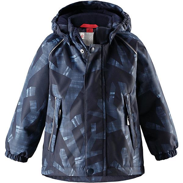 Куртка Reima Reimatec® Kuusi для мальчикаОдежда<br>Характеристики товара:<br><br>• цвет: синий <br>• состав: 100% полиэстер<br>• утеплитель: 100% полиэстер, 160 г/м2 (soft loft insulation)<br>• сезон: зима<br>• температурный режим: от 0 до -20С<br>• водонепроницаемость: 15000 мм<br>• воздухопроницаемость: 7000 мм<br>• износостойкость: 40000 циклов (тест Мартиндейла)<br>• особенности модели: с рисунком, с мехом<br>• основные швы проклеены и не пропускают влагу<br>• водо- и ветронепроницаемый, дышащий и грязеотталкивающий материал<br>• гладкая подкладка из полиэстера<br>• безопасный, съемный капюшон на кнопках<br>• съемный искусственный мех на капюшоне<br>• защита подбородка от защемления<br>• эластичные манжеты<br>• регулируемый подол<br>• застежка: молния<br>• дополнительная планка на кнопках<br>• два кармана на молнии<br>• светоотражающие детали<br>• страна бренда: Финляндия<br>• страна изготовитель: Китай<br><br>Зимняя куртка с капюшоном для мальчика. Все швы проклеены и водонепроницаемы, а сама она изготовлена из водо и ветронепроницаемого, грязеотталкивающего материала. Гладкая подкладка и длинная застежка на молнии облегчают надевание.<br><br>Съемный капюшон защищает от ветра, к тому же он абсолютно безопасен – легко отстегнется, если вдруг за что-нибудь зацепится. Маленькие карманы на молнии надежно сохранят все сокровища. Обратите внимание: куртку можно сушить в сушильной машине. Зимняя куртка на молнии для мальчика декорирована абстрактным рисунком.<br><br>Куртка Kuusi для мальчика Reimatec® Reima от финского бренда Reima (Рейма) можно купить в нашем интернет-магазине.<br>Ширина мм: 356; Глубина мм: 10; Высота мм: 245; Вес г: 519; Цвет: синий; Возраст от месяцев: 12; Возраст до месяцев: 15; Пол: Мужской; Возраст: Детский; Размер: 80,98,92,86; SKU: 6908250;