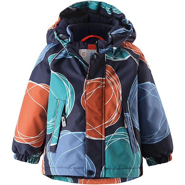 Куртка Reima Reimatec® Kuusi для мальчикаОдежда<br>Характеристики товара:<br><br>• цвет: синий <br>• состав: 100% полиэстер<br>• утеплитель: 100% полиэстер, 160 г/м2 (soft loft insulation)<br>• сезон: зима<br>• температурный режим: от 0 до -20С<br>• водонепроницаемость: 15000 мм<br>• воздухопроницаемость: 7000 мм<br>• износостойкость: 40000 циклов (тест Мартиндейла)<br>• особенности модели: с рисунком, с мехом<br>• основные швы проклеены и не пропускают влагу<br>• водо- и ветронепроницаемый, дышащий и грязеотталкивающий материал<br>• гладкая подкладка из полиэстера<br>• безопасный, съемный капюшон на кнопках<br>• съемный искусственный мех на капюшоне<br>• защита подбородка от защемления<br>• эластичные манжеты<br>• регулируемый подол<br>• застежка: молния<br>• дополнительная планка на кнопках<br>• два кармана на молнии<br>• светоотражающие детали<br>• страна бренда: Финляндия<br>• страна изготовитель: Китай<br><br>Зимняя куртка с капюшоном для мальчика. Все швы проклеены и водонепроницаемы, а сама она изготовлена из водо и ветронепроницаемого, грязеотталкивающего материала. Гладкая подкладка и длинная застежка на молнии облегчают надевание.<br><br>Съемный капюшон защищает от ветра, к тому же он абсолютно безопасен – легко отстегнется, если вдруг за что-нибудь зацепится. Маленькие карманы на молнии надежно сохранят все сокровища. Обратите внимание: куртку можно сушить в сушильной машине. Зимняя куртка на молнии для мальчика декорирована абстрактным рисунком.<br><br>Куртка Kuusi для мальчика Reimatec® Reima от финского бренда Reima (Рейма) можно купить в нашем интернет-магазине.<br>Ширина мм: 356; Глубина мм: 10; Высота мм: 245; Вес г: 519; Цвет: зеленый; Возраст от месяцев: 12; Возраст до месяцев: 15; Пол: Мужской; Возраст: Детский; Размер: 80,98,92,86; SKU: 6908255;