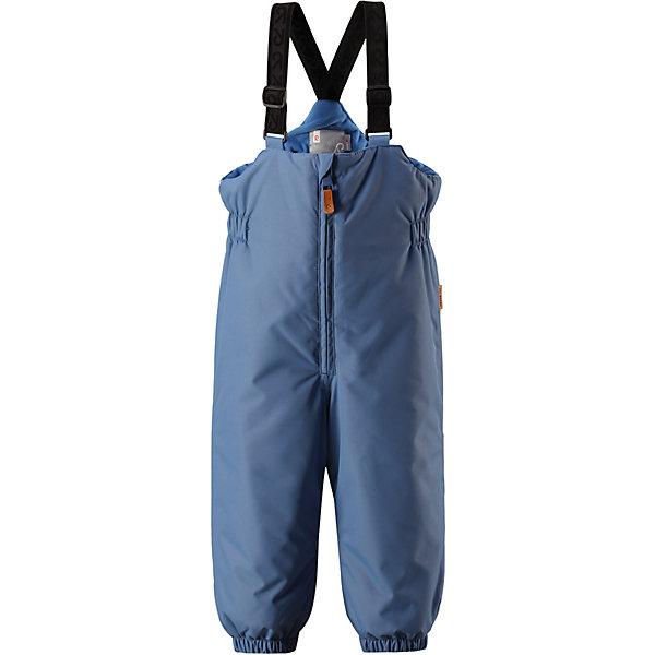 Брюки Reima Reimatec® MatiasВерхняя одежда<br>Характеристики товара:<br><br>• цвет: синий <br>• состав: 100% полиэстер<br>• утеплитель: 100% полиэстер, 140 г/м2 (comfort insulation)<br>• сезон: зима<br>• температурный режим: от 0 до -20С<br>• водонепроницаемость: 8000 мм<br>• воздухопроницаемость: 10000 мм<br>• износостойкость: 30000 циклов (тест Мартиндейла)<br>• особенности модели: с высокой талией, с подтяжками<br>• все швы проклеены и не пропускают влагу<br>• водо- и ветронепроницаемый, дышащий и грязеотталкивающий материал<br>• гладкая подкладка из полиэстера<br>• утепленная задняя часть изделия<br>• высокая талия<br>• регулируемые подтяжки<br>• эластичные штанины<br>• съемные эластичные штрипки<br>• застежка: молния<br>• светоотражающие детали<br>• страна бренда: Финляндия<br>• страна изготовитель: Китай<br><br>Зимние брюки на подтяжках зготовлены они из ветронепроницаемого и дышащего материала, так что даже во время самых активных занятий ребенок в них не вспотеет. Кроме того, материал имеет водо и грязеотталкивающую поверхность.<br><br>Благодаря высокой талии и регулируемым подтяжкам, брюки будут сидеть точно по фигуре, а длинная молния спереди облегчит надевание. Утепленная вставка на задней части обеспечит ножкам дополнительное тепло, а брючины с эластичными штрипками на концах не будут задираться во время прогулки.<br><br>Брюки Matias Reimatec® Reima от финского бренда Reima (Рейма) можно купить в нашем интернет-магазине.<br>Ширина мм: 215; Глубина мм: 88; Высота мм: 191; Вес г: 336; Цвет: синий; Возраст от месяцев: 18; Возраст до месяцев: 24; Пол: Унисекс; Возраст: Детский; Размер: 92,98,80,86; SKU: 6908274;