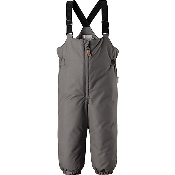 Брюки Reima Reimatec® MatiasВерхняя одежда<br>Характеристики товара:<br><br>• цвет: серый <br>• состав: 100% полиэстер<br>• утеплитель: 100% полиэстер, 140 г/м2 (comfort insulation)<br>• сезон: зима<br>• температурный режим: от 0 до -20С<br>• водонепроницаемость: 8000 мм<br>• воздухопроницаемость: 10000 мм<br>• износостойкость: 30000 циклов (тест Мартиндейла)<br>• особенности модели: с высокой талией, с подтяжками<br>• все швы проклеены и не пропускают влагу<br>• водо- и ветронепроницаемый, дышащий и грязеотталкивающий материал<br>• гладкая подкладка из полиэстера<br>• утепленная задняя часть изделия<br>• высокая талия<br>• регулируемые подтяжки<br>• эластичные штанины<br>• съемные эластичные штрипки<br>• застежка: молния<br>• светоотражающие детали<br>• страна бренда: Финляндия<br>• страна изготовитель: Китай<br><br>Зимние брюки на подтяжках зготовлены они из ветронепроницаемого и дышащего материала, так что даже во время самых активных занятий ребенок в них не вспотеет. Кроме того, материал имеет водо и грязеотталкивающую поверхность.<br><br>Благодаря высокой талии и регулируемым подтяжкам, брюки будут сидеть точно по фигуре, а длинная молния спереди облегчит надевание. Утепленная вставка на задней части обеспечит ножкам дополнительное тепло, а брючины с эластичными штрипками на концах не будут задираться во время прогулки.<br><br>Брюки Matias Reimatec® Reima от финского бренда Reima (Рейма) можно купить в нашем интернет-магазине.<br><br>Ширина мм: 215<br>Глубина мм: 88<br>Высота мм: 191<br>Вес г: 336<br>Цвет: серый<br>Возраст от месяцев: 24<br>Возраст до месяцев: 36<br>Пол: Унисекс<br>Возраст: Детский<br>Размер: 98,80,86,92<br>SKU: 6908279