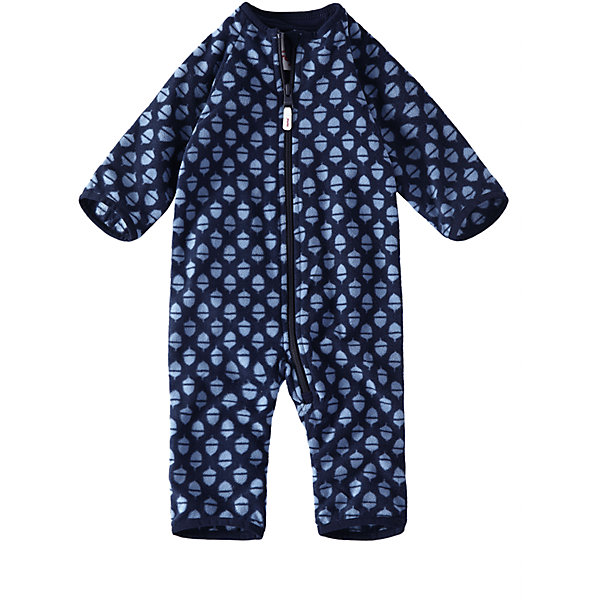 Флисовый комбинезон Reima LauluОдежда<br>Характеристики товара:<br><br>• цвет: синий <br>• состав: 100% полиэстер, флис<br>• сезон: демисезон<br>• особенности модели: с рисунком, флисовый<br>• теплый, легкий и быстросохнущий флис<br>• выводит влагу в верхние слои одежды<br>• регулируемый капюшон<br>• рукава и штанины с подгибом<br>• эластичный воротник, манжеты на рукавах и штанинах<br>• молния по всей длине с защитой подбородка<br>• страна бренда: Финляндия<br>• страна изготовитель: Китай<br><br>Теплый флисовый комбинезон без капюшона подарит малышу комфорт и мягкость. Мягкий на ощупь и удобный комбинезон на молнии отлично подойдет для прогулок в холодные осенние дни.<br><br>Манжеты на рукавах и брючинах подворачиваются, поэтому защищают маленькие ручки и ножки от холода – так что малышам не обязательно надевать на прогулку ботиночки и варежки! Молния во всю длину с защитой для подбородка облегчает процесс надевания и надежно защищает подбородок и шею от царапин.<br><br>Комбинезон Laulu Reima от финского бренда Reima (Рейма) можно купить в нашем интернет-магазине.<br>Ширина мм: 356; Глубина мм: 10; Высота мм: 245; Вес г: 519; Цвет: синий; Возраст от месяцев: 6; Возраст до месяцев: 9; Пол: Унисекс; Возраст: Детский; Размер: 74/80,50/56,62/68; SKU: 6908359;