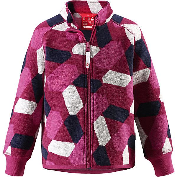 Флисовая кофта Reima Ornament для девочкиОдежда<br>Характеристики товара:<br><br>• цвет: розовый;<br>• состав: 100% полиэстер;<br>• сезон: зима;<br>• особенности модели: флисовая, с рисунком;<br>• застежка: молния по всей длине;<br>• защита подбородка от защемления;<br>• быстро сохнет и сохраняет тепло;<br>• эластичные манжеты;<br>• эластичная сборка на подоле;<br>• страна бренда: Финляндия;<br>• страна изготовитель: Китай.<br><br>Флисовая кофта на молнии идеально подходит для ранней осени, кроме того, его можно носить в качестве промежуточного слоя в зимнюю пору. Мягкий вязаный меланжевый флис очень стильно смотрится, он мягкий и уютный, как пряжа, но при этом имеет все достоинства флиса.<br><br>Флис – теплый и дышащий материал, который быстро сохнет и не парит. Молния во всю длину облегчает надевание, а защита для подбородка не даст поцарапать шею и подбородок. <br><br>Флисовую кофту Reima Ornament от финского бренда Reima (Рейма) можно купить в нашем интернет-магазине.<br>Ширина мм: 190; Глубина мм: 74; Высота мм: 229; Вес г: 236; Цвет: розовый; Возраст от месяцев: 12; Возраст до месяцев: 15; Пол: Женский; Возраст: Детский; Размер: 80,98,92,86; SKU: 6908481;
