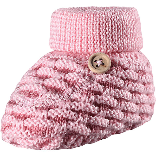 Купить Пинетки Reima Lepo для девочки, Китай, розовый, 0, 1, Женский