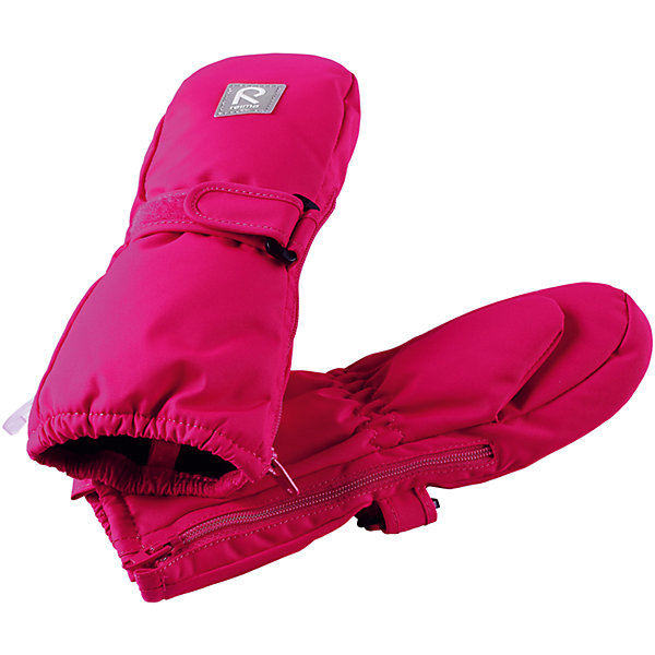 Варежки Reima Tassu для девочкиПерчатки, варежки<br>Характеристики товара:<br><br>• цвет: розовый;<br>• состав: 100% полиэстер;<br>• утеплитель: 170 г/м2 (comfort insulation);<br>• температурный режим: от -10 до -20С;<br>• сезон: зима; <br>• водонепроницаемость: 15000 мм;<br>• воздухопроницаемость: 7000 мм;<br>• износостойкость: 40000 (тест Мартиндейла);<br>• особенности модели: на молнии, на липучке;<br>• застежка: молния и липучка-утяжка;<br>• водонепроницаемый прочный материал;<br>• ветронепроницаемый и грязеотталкивающий материал;<br>• подкладка из полиэстера с небольшим начесом;<br>• обратите внимание, что из-за молнии изделие не является полностью водонепроницаемым;<br>• логотип Reima;<br>• страна бренда: Финляндия;<br>• страна изготовитель: Китай.<br><br>Зимние варежки на молнии отлично подойдут для сухой морозной зимней поры. Благодаря молнии, эти варежки легко надеть на ручки, а мягкая трикотажная подкладка из полиэстера очень приятна на ощупь. Варежки имеют липучку, с помощью которой можно регулировать обхват. Варежки очень просты в уходе – их можно сушить в сушильной машине, так что сразу после стирки они будут снова готовы к веселым снежным приключениям.<br><br>Варежки Tassu Reima от финского бренда Reima (Рейма) можно купить в нашем интернет-магазине.<br><br>Ширина мм: 162<br>Глубина мм: 171<br>Высота мм: 55<br>Вес г: 119<br>Цвет: розовый<br>Возраст от месяцев: 0<br>Возраст до месяцев: 12<br>Пол: Женский<br>Возраст: Детский<br>Размер: 0,1,2<br>SKU: 6908694