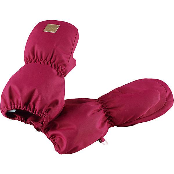 Варежки Reima Huiske для девочкиПерчатки, варежки<br>Характеристики товара:<br><br>• цвет: розовый;<br>• состав: 100% полиэстер;<br>• утеплитель: 80 г/м2 (comfort insulation);<br>• температурный режим: от 0 до -30С;<br>• сезон: зима; <br>• водонепроницаемость: 8000 мм;<br>• воздухопроницаемость: 7000 мм;<br>• износостойкость: 30000 (тест Мартиндейла);<br>• особенности модели: на подкладке;<br>• водонепроницаемый прочный материал;<br>• ветронепроницаемый и грязеотталкивающий материал;<br>• теплая шерстяная ворсистая подкладка;<br>• логотип Reima спереди;<br>• страна бренда: Финляндия;<br>• страна изготовитель: Китай.<br><br>Зимние варежки для малышей отлично согреют в морозный зимний день. Варежки сшиты из водонепроницаемого материала, но не снабжены водонепроницаемой вставкой, так что мы не рекомендуем носить их в мокрую погоду.<br>Ветронепроницаемый дышащий материал, утеплитель и теплая шерстяная подкладка с ворсом надежно согреют маленькие пальчики. А в сильные морозы под них можно надеть теплые шерстяные варежки – в это просторной модели специально предусмотрен запас места!<br><br>Варежки Huiske Reima от финского бренда Reima (Рейма) можно купить в нашем интернет-магазине.<br><br>Ширина мм: 162<br>Глубина мм: 171<br>Высота мм: 55<br>Вес г: 119<br>Цвет: розовый<br>Возраст от месяцев: 0<br>Возраст до месяцев: 12<br>Пол: Женский<br>Возраст: Детский<br>Размер: 0,2,1<br>SKU: 6908734