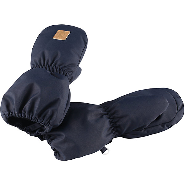 Варежки Reima Huiske для мальчикаПерчатки и варежки<br>Характеристики товара:<br><br>• цвет: синий;<br>• состав: 100% полиэстер;<br>• утеплитель: 80 г/м2 (comfort insulation);<br>• температурный режим: от 0 до -30С;<br>• сезон: зима; <br>• водонепроницаемость: 8000 мм;<br>• воздухопроницаемость: 7000 мм;<br>• износостойкость: 30000 (тест Мартиндейла);<br>• особенности модели: на подкладке;<br>• водонепроницаемый прочный материал;<br>• ветронепроницаемый и грязеотталкивающий материал;<br>• теплая шерстяная ворсистая подкладка;<br>• логотип Reima спереди;<br>• страна бренда: Финляндия;<br>• страна изготовитель: Китай.<br><br>Зимние варежки для малышей отлично согреют в морозный зимний день. Варежки сшиты из водонепроницаемого материала, но не снабжены водонепроницаемой вставкой, так что мы не рекомендуем носить их в мокрую погоду.<br><br>Ветронепроницаемый дышащий материал, утеплитель и теплая шерстяная подкладка с ворсом надежно согреют маленькие пальчики. А в сильные морозы под них можно надеть теплые шерстяные варежки – в это просторной модели специально предусмотрен запас места!<br><br>Варежки Huiske Reima от финского бренда Reima (Рейма) можно купить в нашем интернет-магазине.<br>Ширина мм: 162; Глубина мм: 171; Высота мм: 55; Вес г: 119; Цвет: синий; Возраст от месяцев: 0; Возраст до месяцев: 12; Пол: Мужской; Возраст: Детский; Размер: 0,2,1; SKU: 6908738;