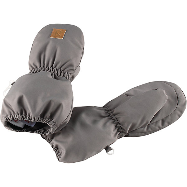 Варежки Reima HuiskeПерчатки, варежки<br>Характеристики товара:<br><br>• цвет: серый;<br>• состав: 100% полиэстер;<br>• утеплитель: 80 г/м2 (comfort insulation);<br>• температурный режим: от 0 до -30С;<br>• сезон: зима; <br>• водонепроницаемость: 8000 мм;<br>• воздухопроницаемость: 7000 мм;<br>• износостойкость: 30000 (тест Мартиндейла);<br>• особенности модели: на подкладке;<br>• водонепроницаемый прочный материал;<br>• ветронепроницаемый и грязеотталкивающий материал;<br>• теплая шерстяная ворсистая подкладка;<br>• логотип Reima спереди;<br>• страна бренда: Финляндия;<br>• страна изготовитель: Китай.<br><br>Зимние варежки для малышей отлично согреют в морозный зимний день. Варежки сшиты из водонепроницаемого материала, но не снабжены водонепроницаемой вставкой, так что мы не рекомендуем носить их в мокрую погоду.<br><br>Ветронепроницаемый дышащий материал, утеплитель и теплая шерстяная подкладка с ворсом надежно согреют маленькие пальчики. А в сильные морозы под них можно надеть теплые шерстяные варежки – в это просторной модели специально предусмотрен запас места!<br><br>Варежки Huiske Reima от финского бренда Reima (Рейма) можно купить в нашем интернет-магазине.<br>Ширина мм: 162; Глубина мм: 171; Высота мм: 55; Вес г: 119; Цвет: серый; Возраст от месяцев: 12; Возраст до месяцев: 24; Пол: Унисекс; Возраст: Детский; Размер: 2,1,0; SKU: 6908742;