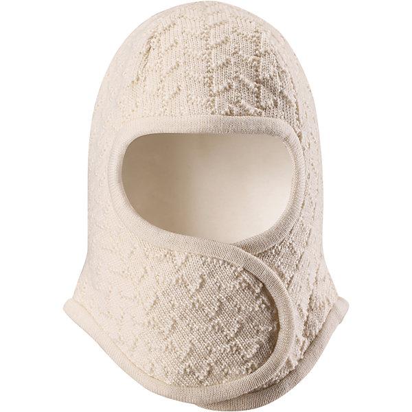 Шапка-шлем Reima LittlestШапочки<br>Характеристики товара:<br><br>• цвет: белый;<br>• состав: 100% шерсть;<br>• подкладка: 97% хлопок, 3% эластан;<br>• температурный режим: от 0 до -20С;<br>• сезон: зима; <br>• особенности модели: на подкладке, на липучках;<br>• сплошная подкладка: гладкий хлопковый трикотаж;<br>• ткань из смеси мериносовой шерсти сохраняет тепло даже при намокании;<br>• шерсть идеально поддерживает температуру;<br>• товар сертифицирован Oeko-Tex, класс 1, одежда для малышей;<br>• мягкая подкладка из хлопка и эластана;<br>• задние швы отсутствуют;<br>• застежка на липучке спереди;<br>• логотип Reima сбоку;<br>• страна бренда: Финляндия;<br>• страна изготовитель: Китай.<br><br>Шапка-шлем для самых маленьких. Спереди она снабжена удобной застежкой на липучке, поэтому ее легко надевать. Продуманный дизайн предусматривает надежную защиту подбородка, шеи и щечек. Шапка-шлем связана из мериносовой шерсти с лёгкой и мягкой подкладкой из натурального хлопка, поэтому она мягкая и приятная на ощупь и идеально подходит для нежной кожи новорожденного. <br><br>Шапка-шлем Reima Littlest от финского бренда Reima (Рейма) можно купить в нашем интернет-магазине.<br><br>Ширина мм: 89<br>Глубина мм: 117<br>Высота мм: 44<br>Вес г: 155<br>Цвет: белый<br>Возраст от месяцев: 6<br>Возраст до месяцев: 9<br>Пол: Унисекс<br>Возраст: Детский<br>Размер: 42-44,34-36,38-40<br>SKU: 6908766