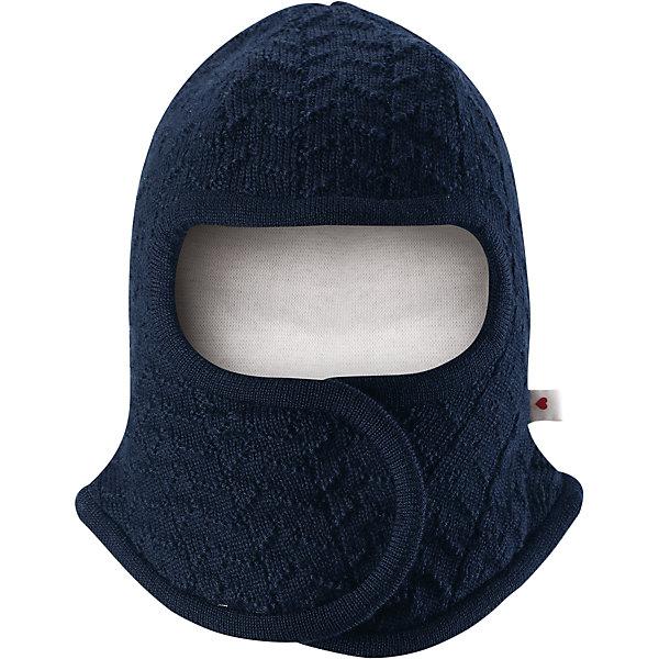 Шапка-шлем Reima Littlest для мальчикаШапочки<br>Характеристики товара:<br><br>• цвет: темно-синий;<br>• состав: 100% шерсть;<br>• подкладка: 97% хлопок, 3% эластан;<br>• температурный режим: от 0 до -20С;<br>• сезон: зима; <br>• особенности модели: на подкладке, на липучках;<br>• сплошная подкладка: гладкий хлопковый трикотаж;<br>• ткань из смеси мериносовой шерсти сохраняет тепло даже при намокании;<br>• шерсть идеально поддерживает температуру;<br>• товар сертифицирован Oeko-Tex, класс 1, одежда для малышей;<br>• мягкая подкладка из хлопка и эластана;<br>• задние швы отсутствуют;<br>• застежка на липучке спереди;<br>• логотип Reima сбоку;<br>• страна бренда: Финляндия;<br>• страна изготовитель: Китай.<br><br>Шапка-шлем для самых маленьких. Спереди она снабжена удобной застежкой на липучке, поэтому ее легко надевать. Продуманный дизайн предусматривает надежную защиту подбородка, шеи и щечек. Шапка-шлем связана из мериносовой шерсти с лёгкой и мягкой подкладкой из натурального хлопка, поэтому она мягкая и приятная на ощупь и идеально подходит для нежной кожи новорожденного. <br><br>Шапка-шлем Reima Littlest от финского бренда Reima (Рейма) можно купить в нашем интернет-магазине.<br>Ширина мм: 89; Глубина мм: 117; Высота мм: 44; Вес г: 155; Цвет: синий; Возраст от месяцев: 6; Возраст до месяцев: 9; Пол: Мужской; Возраст: Детский; Размер: 42-44,34-36,38-40; SKU: 6908774;