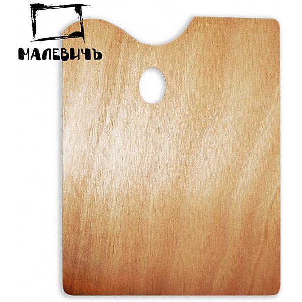 Прямоугольная деревянная палитра Малевичъ, 30х40 смАксессуары для творчества<br>Характеристики:<br><br>• возраст: от 3 лет<br>• материал: древесина<br>• размер: 30х40 см.<br><br>Деревянная прямоугольная палитра Малевичъ предназначена для смешивания гуашевых, акриловых и масляных красок. Благодаря анатомически выверенным отверстиям для пальцев палитра удобно ложится в руку, делая процесс живописи легким и комфортным, а ее гладко отполированная поверхность при необходимости легко очищается от лишней краски с помощью ветоши и шпателя.<br><br>Деревянная палитра Малевичъ изготовлена из экологически чистого, возобновляемого материала, удобна и безопасна в работе, прослужит долгое время.<br><br>Модель увеличенного размера особенно оценят художники, пишущие большие полотна, которым необходимо смешивать значительное количество красок.<br><br>Прямоугольную деревянную палитру Малевичъ, 30х40 см можно купить в нашем интернет-магазине.<br>Ширина мм: 300; Глубина мм: 400; Высота мм: 2; Вес г: 29; Возраст от месяцев: 36; Возраст до месяцев: 2147483647; Пол: Унисекс; Возраст: Детский; SKU: 6910378;