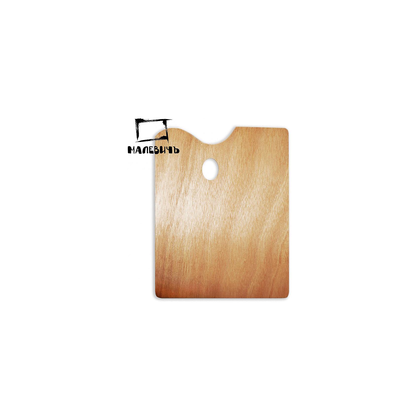 Прямоугольная деревянная палитра Малевичъ, 30х40 смАксессуары для творчества<br>Характеристики:<br><br>• возраст: от 3 лет<br>• материал: древесина<br>• размер: 30х40 см.<br><br>Деревянная прямоугольная палитра Малевичъ предназначена для смешивания гуашевых, акриловых и масляных красок. Благодаря анатомически выверенным отверстиям для пальцев палитра удобно ложится в руку, делая процесс живописи легким и комфортным, а ее гладко отполированная поверхность при необходимости легко очищается от лишней краски с помощью ветоши и шпателя.<br><br>Деревянная палитра Малевичъ изготовлена из экологически чистого, возобновляемого материала, удобна и безопасна в работе, прослужит долгое время.<br><br>Модель увеличенного размера особенно оценят художники, пишущие большие полотна, которым необходимо смешивать значительное количество красок.<br><br>Прямоугольную деревянную палитру Малевичъ, 30х40 см можно купить в нашем интернет-магазине.<br><br>Ширина мм: 300<br>Глубина мм: 400<br>Высота мм: 2<br>Вес г: 29<br>Возраст от месяцев: 36<br>Возраст до месяцев: 2147483647<br>Пол: Унисекс<br>Возраст: Детский<br>SKU: 6910378