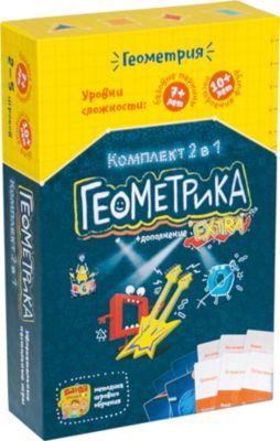 Развивающая настольная игра Геокомплект 2 в 1 , Банда Умников