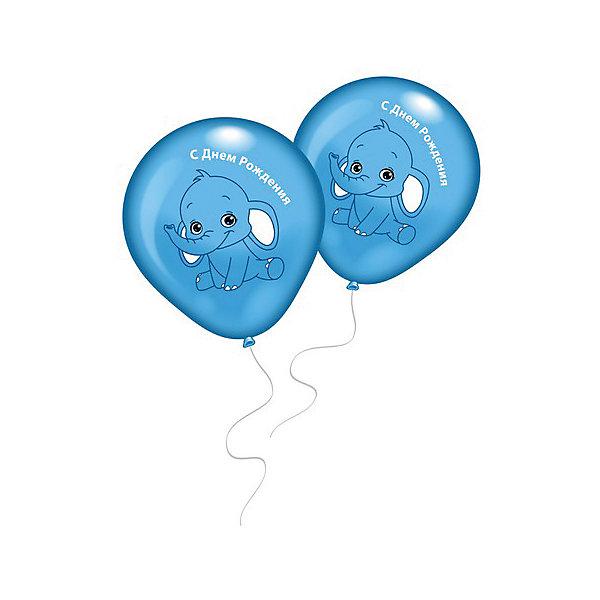 8 шариков с рисунком Голубой слоненокВоздушные шары<br>Характеристики товара:<br><br>• возраст: от 3 лет;<br>• упаковка: пакет;<br>• размер упаковки: 20х12х1 см.;<br>• количество шаров: 8 шт.;<br>• высота свечки: 6 см.;<br>• цвет: голубой;<br>• состав: латекс 100%;<br>• бренд, страна: Everts, Россия;<br>• страна-производитель: США.<br><br>Набор из 8 шаров приятного голубого цвета с рисунком «Голубой слоненок» и надписью «С днем рождения» помогут ярко украсить комнату и подарят заряд радости позитива всем гостям вашего торжества.<br><br>Насыщенный цвет, легкое надувание и высококачественные материалы выгодно отличают их среди других праздничных аксессуаров. Вы можете надувать шарики самостоятельно или воспользоваться насосом от Everts, который быстро справится с задачей. <br><br>8 шаров «Голубой слоненок»,  Everts (Эвертс)  можно купить в нашем интернет-магазине.<br>Ширина мм: 120; Глубина мм: 200; Высота мм: 10; Вес г: 10; Возраст от месяцев: 36; Возраст до месяцев: 120; Пол: Унисекс; Возраст: Детский; SKU: 6912884;