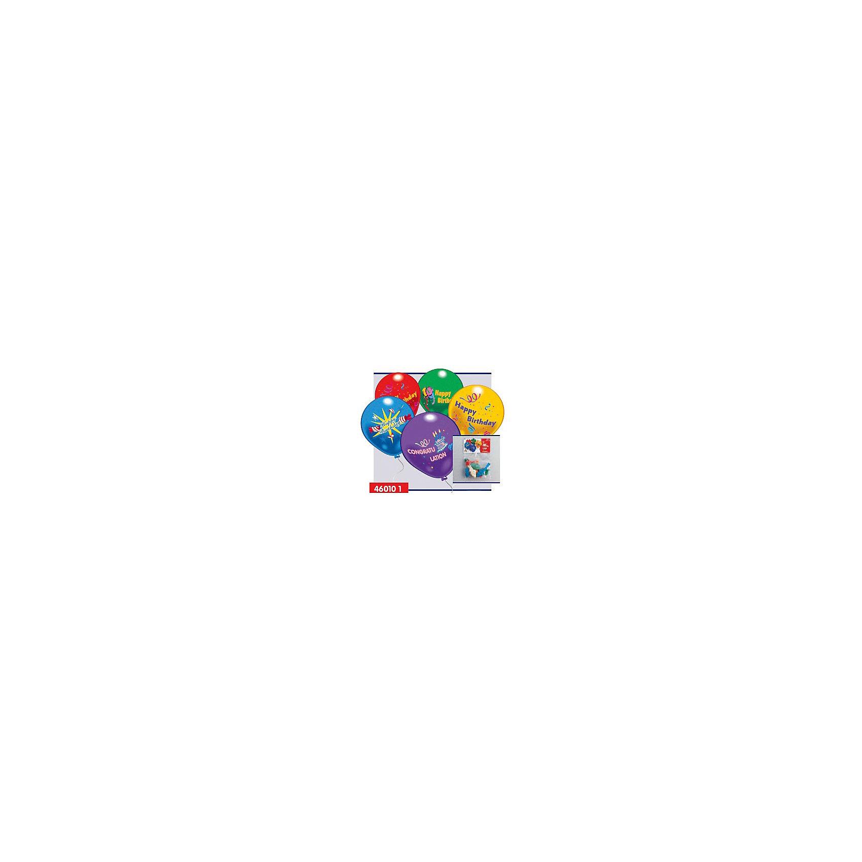 10 шариков С днем рождения!Всё для праздника<br>Характеристики товара:<br><br>• возраст: от 3 лет;<br>• упаковка: пакет;<br>• размер упаковки: 15х23х1 см.;<br>• количество шаров: 10 шт.;<br>• состав: латекс 100%;<br>• бренд, страна: Everts, Россия;<br>• страна-производитель: США.<br><br>10 разноцветных шариков с надписью «Happy Birthday!» помогут ярко украсить комнату и создать праздничную атмосферу вашего торжества, а также станут оригинальным и незабываемым подарком.<br><br>Насыщенный цвет, легкое надувание и высококачественные материалы выгодно отличают их среди других праздничных аксессуаров. Вы можете надувать шарики самостоятельно или воспользоваться насосом от Everts, который быстро справится с задачей. <br><br>10  шариков «С днем рождения»,  Everts (Эвертс)  можно купить в нашем интернет-магазине.<br><br>Ширина мм: 150<br>Глубина мм: 230<br>Высота мм: 10<br>Вес г: 10<br>Возраст от месяцев: 36<br>Возраст до месяцев: 120<br>Пол: Унисекс<br>Возраст: Детский<br>SKU: 6912888