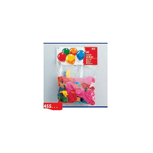 10 разноцветных шариков