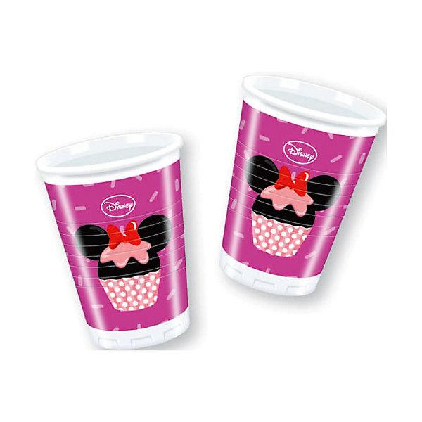 Стаканы пластиковые Микки и его друзья - сладости 180 мл, 8 шт.Стаканы<br>Характеристики товара:<br><br>• возраст: от 3 лет;<br>• упаковка: пакет;<br>• размер упаковки: 7х7х13 см.;<br>• количество стаканов: 8 шт.;<br>• емкость стакана: 180 мл.;<br>• цвет: белый с рисунком;<br>• состав: пластик 100%;<br>• бренд, страна: Procos, Россия;<br>• страна-производитель: Греция.<br><br>Стаканы пластиковые «Микки и его друзья – сладости» - яркий детский набор из 8 стаканов сделает  торжество Вашего ребенка еще интересней, увлекательней и веселей. Детям очень важна атмосфера во время праздника, в том числе и оформление.<br><br>Стаканы от греческого бренда Procos, который на протяжении многих лет производит качественные товары для детского праздника, изготовлены из безопасного пластика, безвредного для детского здоровья.<br><br>Стаканы пластиковые «Веселый Микки», 180 мл., 8 шт., Procos (Прокос)  можно купить в нашем интернет-магазине.<br>Ширина мм: 70; Глубина мм: 70; Высота мм: 125; Вес г: 5; Возраст от месяцев: 36; Возраст до месяцев: 120; Пол: Женский; Возраст: Детский; SKU: 6914344;
