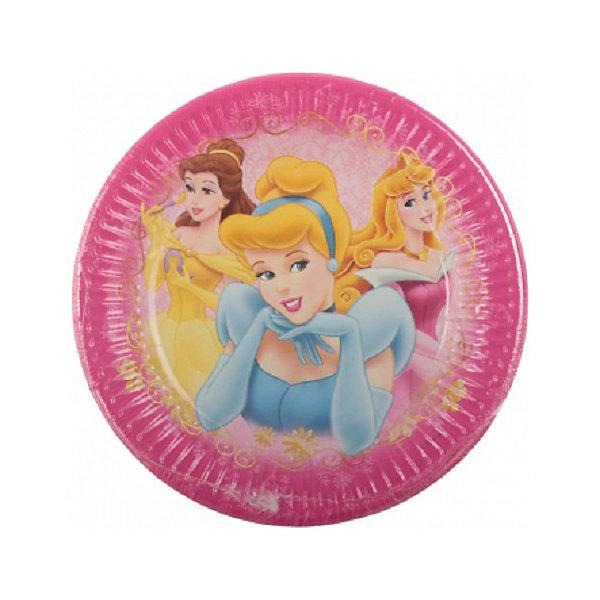 Тарелки «Красивые Принцессы»Тарелки<br>Характеристики товара:<br><br>• возраст: от 3 лет;<br>• упаковка: пакет;<br>• размер упаковки: 19х19х2 см.;<br>• количество тарелок: 8 шт.;<br>• размер тарелки: 20 см.;<br>• цвет: розовый;<br>• материал: картон;<br>• бренд, страна: Procos, Россия;<br>• страна-производитель: Греция.<br><br>Тарелки  «Красивые Принцессы» с изображением трех принцес в шикарных нарядах помогут не только оригинально и необычно украсить праздничный стол и создать незабываемую атмосферу праздника, но и обезопасят вас и ваших детей от разбитой посуды. <br><br>Тарелки сделаны из качественных материалов, не токсичны, противоаллергенны и безопасны для здоровья.<br><br>Тарелки  «Красивые Принцессы» , 20 см., 8 шт., Procos (Прокос)  можно купить в нашем интернет-магазине.<br>Ширина мм: 20; Глубина мм: 195; Высота мм: 195; Вес г: 15; Возраст от месяцев: 36; Возраст до месяцев: 120; Пол: Унисекс; Возраст: Детский; SKU: 6914353;