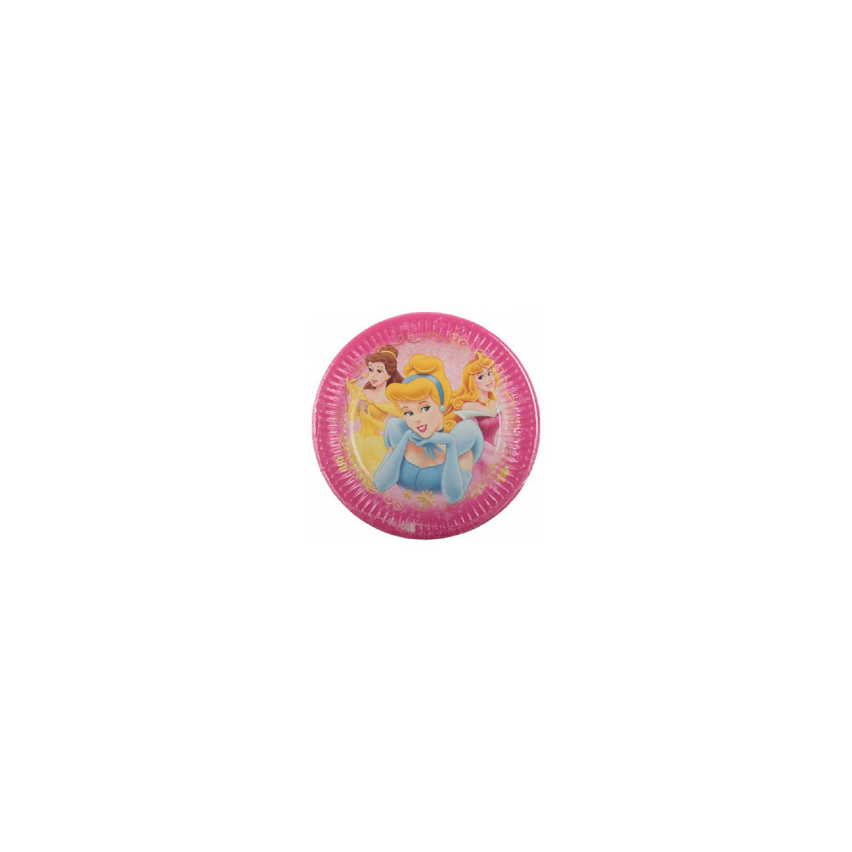 Тарелки «Красивые Принцессы»Тарелки<br>Характеристики товара:<br><br>• возраст: от 3 лет;<br>• упаковка: пакет;<br>• размер упаковки: 19х19х2 см.;<br>• количество тарелок: 8 шт.;<br>• размер тарелки: 20 см.;<br>• цвет: розовый;<br>• материал: картон;<br>• бренд, страна: Procos, Россия;<br>• страна-производитель: Греция.<br><br>Тарелки  «Красивые Принцессы» с изображением трех принцес в шикарных нарядах помогут не только оригинально и необычно украсить праздничный стол и создать незабываемую атмосферу праздника, но и обезопасят вас и ваших детей от разбитой посуды. <br><br>Тарелки сделаны из качественных материалов, не токсичны, противоаллергенны и безопасны для здоровья.<br><br>Тарелки  «Красивые Принцессы» , 20 см., 8 шт., Procos (Прокос)  можно купить в нашем интернет-магазине.<br><br>Ширина мм: 20<br>Глубина мм: 195<br>Высота мм: 195<br>Вес г: 15<br>Возраст от месяцев: 36<br>Возраст до месяцев: 120<br>Пол: Унисекс<br>Возраст: Детский<br>SKU: 6914353
