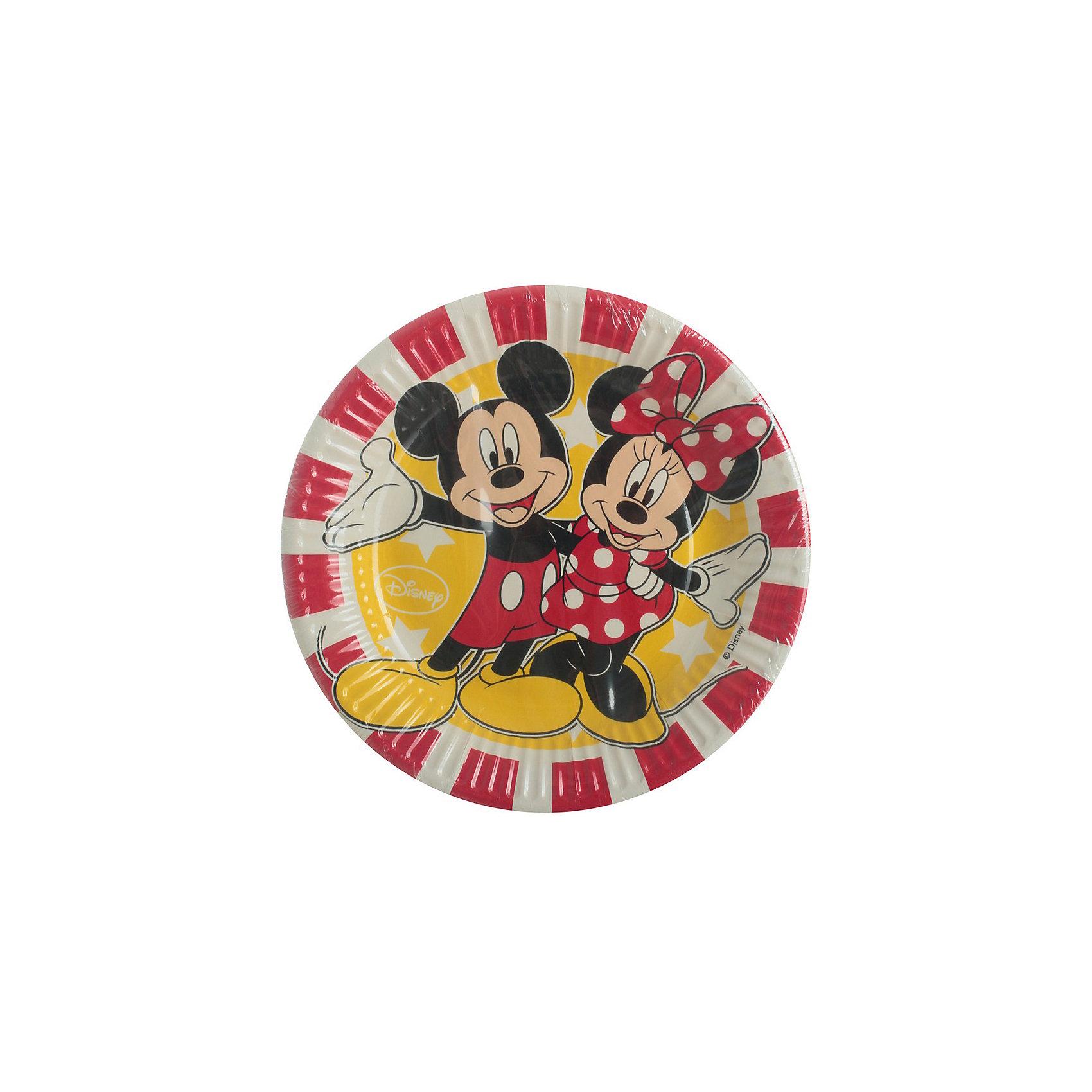 Тарелки Дисней «Микки и Минни»Всё для праздника<br>Характеристики товара:<br><br>• возраст: от 3 лет;<br>• упаковка: пакет;<br>• размер упаковки: 19х19х2 см.;<br>• количество тарелок: 8 шт.;<br>• размер тарелки: 20 см.;<br>• цвет: красный и белый;<br>• материал: картон;<br>• бренд, страна: Procos, Россия;<br>• страна-производитель: Греция.<br><br>Тарелки  «Микки и Минни» с изображением веселых персонажей Дисней Микки и Минни в яркой одежде помогут не только оригинально и необычно украсить праздничный стол и создать незабываемую атмосферу праздника, но и обезопасят вас и ваших детей от разбитой посуды. <br><br>Тарелки сделаны из качественных материалов, не токсичны, противоаллергенны и безопасны для здоровья.<br><br>Тарелки  «Микки и Мини» , 20 см., 8 шт., Procos (Прокос)  можно купить в нашем интернет-магазине.<br><br>Ширина мм: 20<br>Глубина мм: 195<br>Высота мм: 195<br>Вес г: 15<br>Возраст от месяцев: 36<br>Возраст до месяцев: 120<br>Пол: Унисекс<br>Возраст: Детский<br>SKU: 6914354