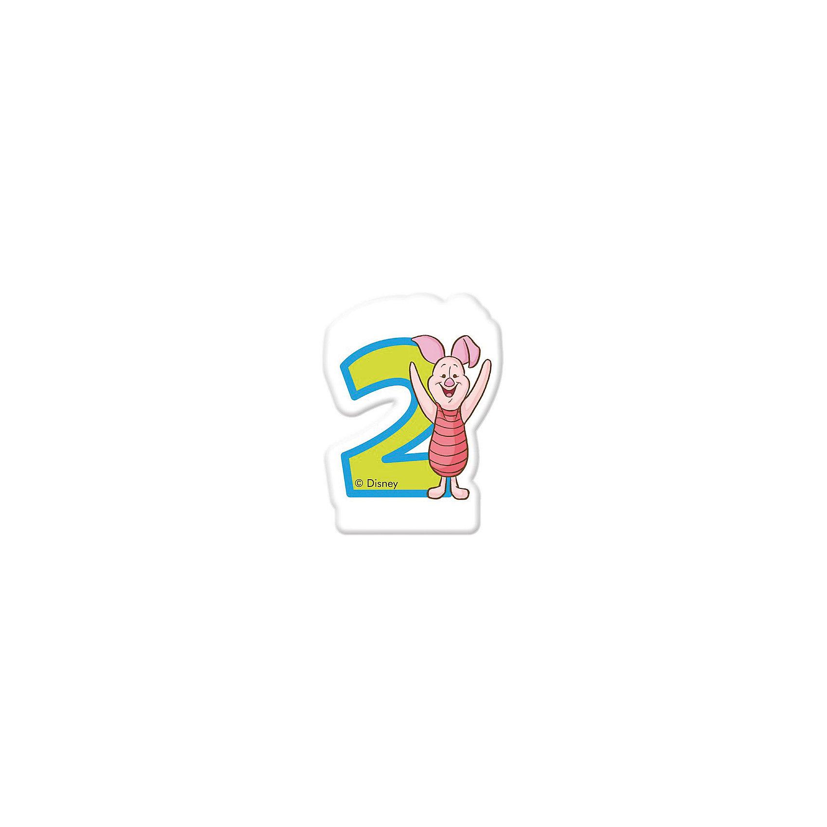 Свечка для тортаВсё для праздника<br>Характеристики товара:<br><br>• возраст: от 3 лет;<br>• упаковка: блистер;<br>• размер упаковки: 13х8х1 см.;<br>• количество свечей: 1 шт.;<br>• высота свечки: 6 см.;<br>• цвет: розовый;<br>• состав: парафин, дерево;<br>• бренд, страна: Procos, Россия;<br>• страна-производитель: Греция<br><br>Свечка «Винни: 2 года» станет лучшим вариантом украшения детского торта на праздновании дня рождения вашего малыша. С помощью свечи для торта  «Винни: 2 года» с забавной фигуркой героя из мультфильма Дисней Хрюни вы порадуете вашего ребенка и сделаете день рождения незабываемым.  <br><br>Свечки изготовлены из высококачественных нетоксичных материалов и безопасны для детского здоровья.<br><br>Свечка «Винни: 2 года», 6 см., 1 шт., Procos (Прокос)  можно купить в нашем интернет-магазине.<br><br>Ширина мм: 85<br>Глубина мм: 35<br>Высота мм: 130<br>Вес г: 27<br>Возраст от месяцев: 36<br>Возраст до месяцев: 120<br>Пол: Унисекс<br>Возраст: Детский<br>SKU: 6914361