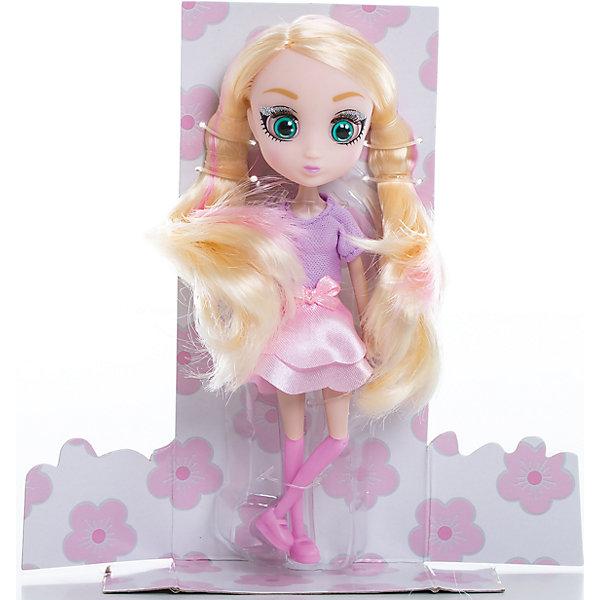 Кукла Шидзуки, 15 см, Шибадзуку ГерлзКуклы<br>Характеристики товара:<br><br>• возраст: от 3 лет;<br>• материал: пластик,текстиль;<br>•высота куклы: 15 см;<br>•в комплекте : кукла,аксессуары;<br>• размер упаковки: 5х8х17 см;<br>• вес упаковки: 87 гр.;<br>• страна обладатель бренда: Австралия;<br>• бренд: Hunter Products. <br><br>Представляем Вашему вниманию куклу Шидзуки — эта стильная блондинка очень талантлива и креативна, она обожает сочинять музыку и мечтает стать крутым дизайнером. На этот раз Шидзуки одета в сиреневую кофточку с коротким рукавом, розовую юбку с бантиком на поясе, розовые гетры и ботиночки.<br><br>А еще у куклы яркий макияж и длинные светлые волосы с розовыми прядями. Девочка сможет сделать очень много необычных причесок для любимой игрушки. Также у куклы подвижная голова, руки и ноги. Руки без шарниров, а вот ноги сгибаются в бедре, прокручиваются и сгибаются в колене. <br><br>Куклу Шидзуки ,15 см  можно приобрести в нашем интернет-магазине.<br><br>Ширина мм: 80<br>Глубина мм: 50<br>Высота мм: 170<br>Вес г: 87<br>Возраст от месяцев: 36<br>Возраст до месяцев: 2147483647<br>Пол: Женский<br>Возраст: Детский<br>SKU: 6916231