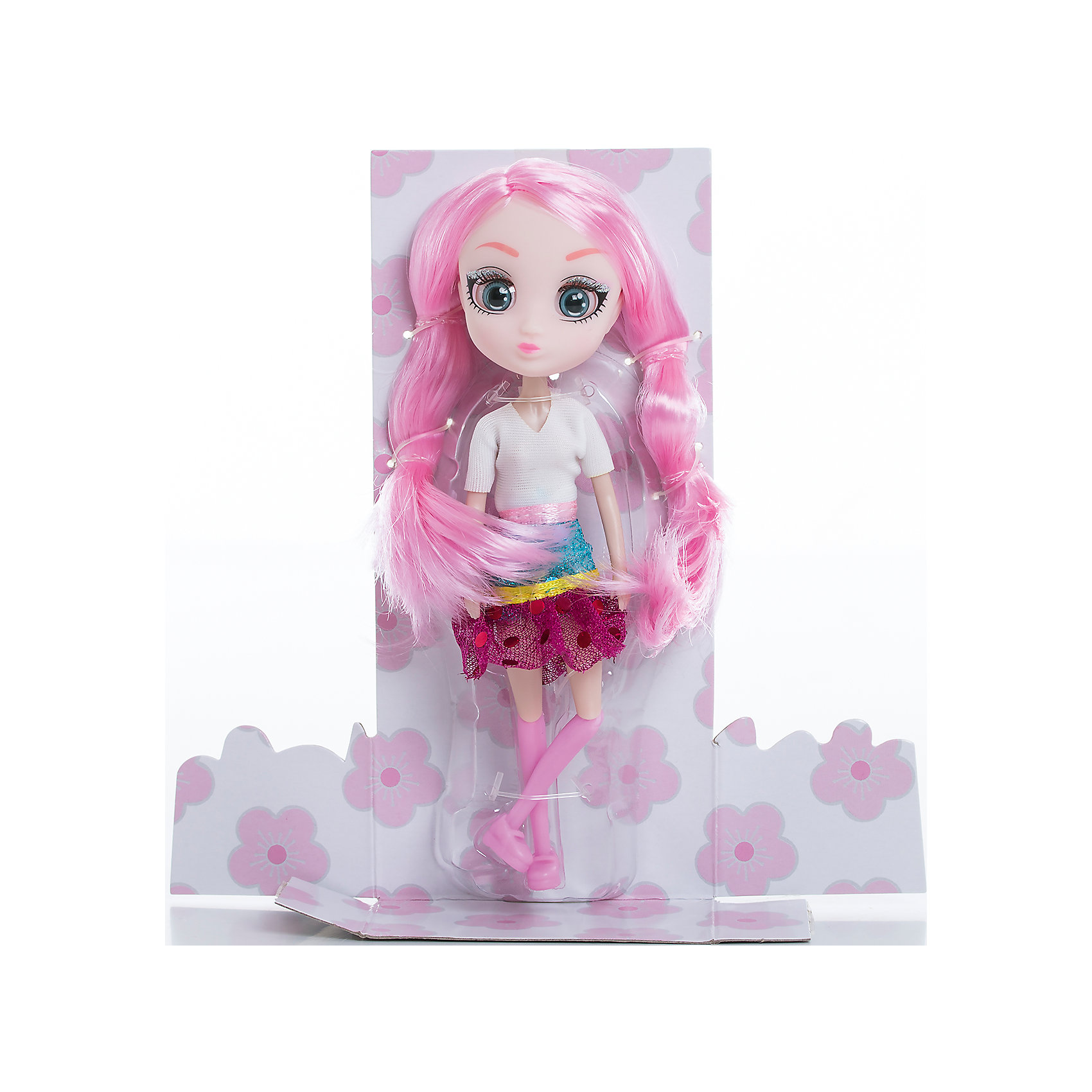 Кукла Сури, 15 см, Шибадзуку ГерлзКуклы<br>Характеристики товара:<br><br>• возраст: от 3 лет;<br>• материал: пластик,текстиль;<br>•высота куклы: 15 см;<br>•в комплекте : кукла,аксессуары;<br>• размер упаковки: 5х8х17 см;<br>• вес упаковки: 87 гр.;<br>• страна обладатель бренда: Австралия;<br>• бренд: Hunter Products. <br><br>Кукла Сури из коллекции Shibajuku Girls в абсолютно новом образе. Модняшка Сури просто обожает все цветное, у нее очень большая коллекция самых разных аксессуаров, а еще малышка настоящий кулинар, ее любимое занятие — печь кап-кейки. Нельзя оставить без внимания наряд Сури, она одета в белую кофточку с коротким рукавом и блестящую юбочку с пайетками. <br><br>У Сури огромные глаза, яркий макияж и очень стильная прическа — длинные розовые волосы. Девочка сможет создать для любимой куклы любую прическу, которую только пожелает, волосы легко расчесываются. <br><br>У куклы подвижная голова, руки и ноги. Руки без шарниров, а вот ноги сгибаются в бедре, прокручиваются и сгибаются в колене. <br> <br>Куклу Сури ,15 см  можно приобрести в нашем интернет-магазине.<br><br>Ширина мм: 80<br>Глубина мм: 50<br>Высота мм: 170<br>Вес г: 87<br>Возраст от месяцев: 36<br>Возраст до месяцев: 2147483647<br>Пол: Женский<br>Возраст: Детский<br>SKU: 6916233
