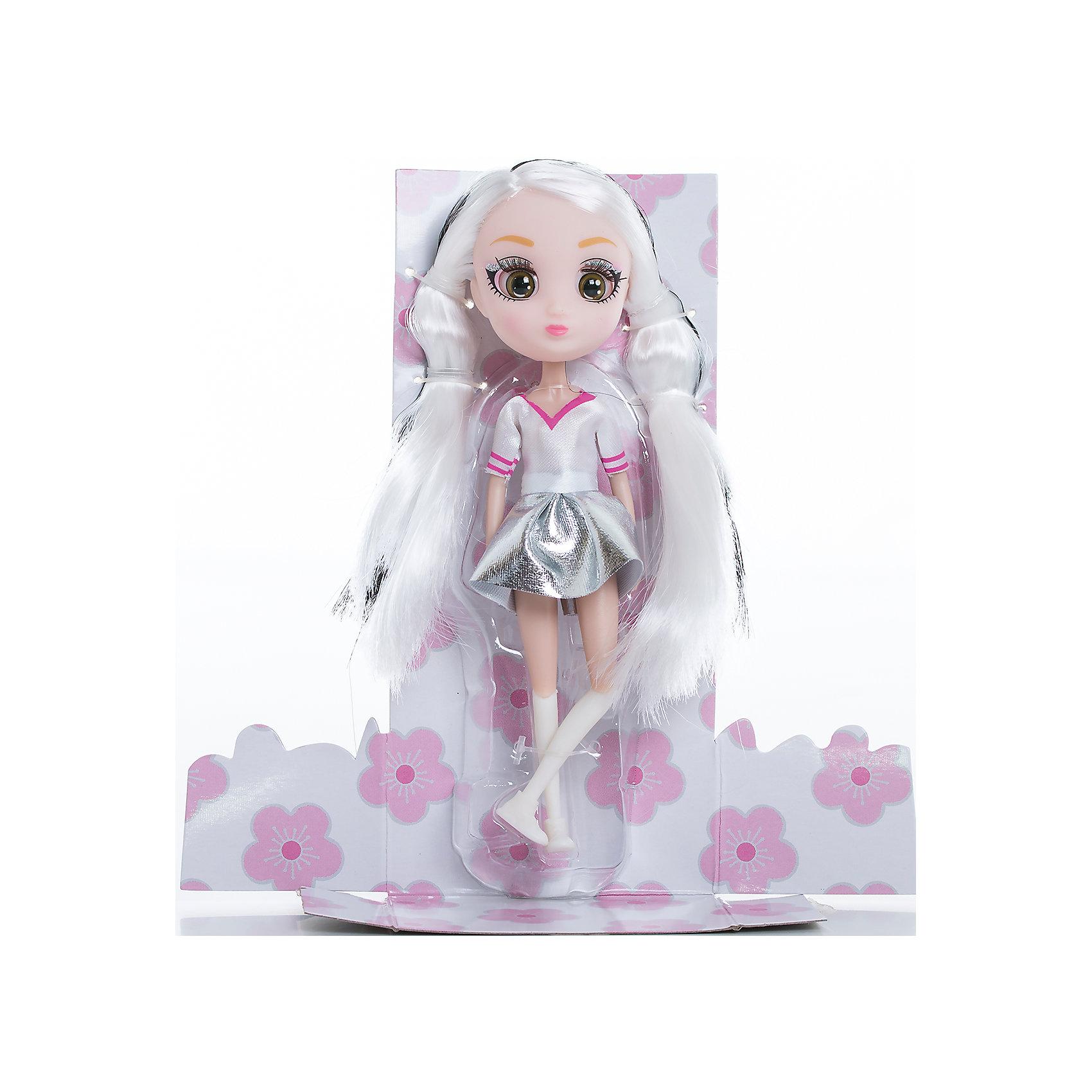 Кукла Мики, 15 см, Шибадзуку ГерлзКуклы<br>Характеристики товара:<br><br>• возраст: от 3 лет;<br>• материал: пластик,текстиль;<br>•высота куклы: 15 см;<br>•в комплекте : кукла,аксессуары;<br>• размер упаковки: 5х8х17 см;<br>• вес упаковки: 87 гр.;<br>• страна обладатель бренда: Австралия;<br>• бренд: Hunter Products. <br><br>Кукла Мики — она очень модная, светловолосая с черными прядями. Ей можно делать много необычных причесок! Мики любит стильную одежду, на ней белая кофта с коротким рукавом, серебристая юбка, белые гетры и ботиночки. <br><br>У куклы подвижная голова, руки и ноги. Руки без шарниров, а вот ноги сгибаются в бедре, прокручиваются и сгибаются в колене. <br><br>Девочка будет в восторге от такого подарка, Мики однозначно станет любимой игрушкой, ведь с ней можно придумать так много увлекательных историй. А еще здорово будет собрать целую коллекцию Shibajuku Girls. <br><br>Куклу Мики ,15 см  можно приобрести в нашем интернет-магазине.<br><br>Ширина мм: 80<br>Глубина мм: 50<br>Высота мм: 170<br>Вес г: 87<br>Возраст от месяцев: 36<br>Возраст до месяцев: 2147483647<br>Пол: Женский<br>Возраст: Детский<br>SKU: 6916234