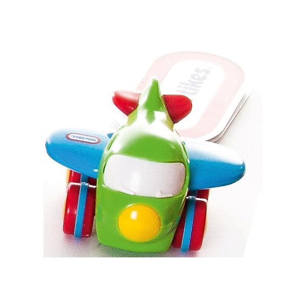 Самолет, Little TikesСамолёты и вертолёты<br>Характеристики товара:<br><br>• возраст: от 12 мес.;<br>• тип: самолет;<br>• материал: пластик;<br>• размер упаковки: 6,5х8,5х6 см;<br>• вес упаковки: 118 гр.; <br>•страна обладатель бренда: США; <br>• бренд: Little Tikes.<br><br>Игрушка «Самолет» Little Tikes — увлекательная игрушка для малышей, выполненная в виде разноцветного самолетика. Малыши могут катать его по полу и придумывать разнообразные игры. Благодаря особой технологии «Push and Go» самолет движется практически бесшумно.   <br>Игрушка способствует развитию мелкой моторики рук, тактильных ощущений, цветового восприятия, воображения. Самолет Little Tikes выполнен из качественного безвредного пластика и не имеет острых опасных деталей.   <br><br>Игрушку «Самолет» Little Tikes можно приобрести в нашем интернет-магазине.<br><br>Ширина мм: 65<br>Глубина мм: 85<br>Высота мм: 60<br>Вес г: 118<br>Возраст от месяцев: 12<br>Возраст до месяцев: 36<br>Пол: Мужской<br>Возраст: Детский<br>SKU: 6916252