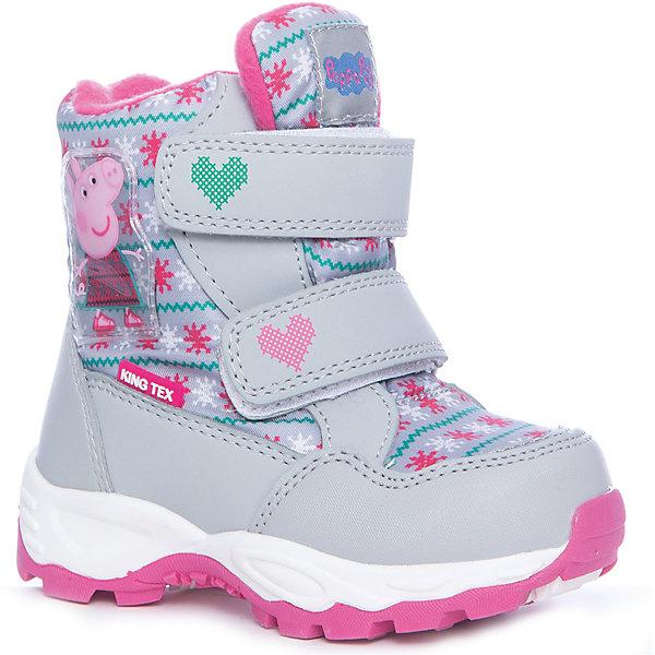 Купить Ботинки Kakadu для девочки, Китай, серый, 24, 29, 28, 27, 26, 25, Женский