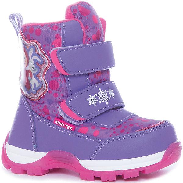 Купить Ботинки Kakadu для девочки, Китай, лиловый, 24, 30, 29, 28, 27, 26, 25, Женский