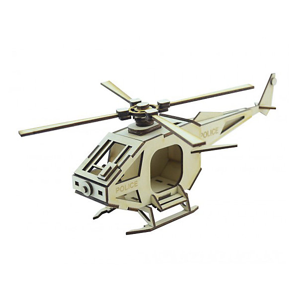 Деревянный  3D конструктор подвижный Вертолет Полиция, LemmoДеревянные конструкторы<br>Характеристики товара:<br><br>• количество деталей: 47;<br>• в комплекте: детали, клей ПВА, наждачная бумага, инструкция;<br>• материал: дерево;<br>• размер упаковки: 11х22х27,5 см;<br>• вес: 150 грамм;<br>• возраст: от 5 лет.<br>• страна производства: Россия<br><br>Из деревянного 3D конструктора Lemmo юный строитель сможет самостоятельно собрать новую игрушку - полицейский вертолет. В набор входят 47 деталей для сборки, наждачная бумага, клей ПВА и инструкция. Детали изготовлены из экологически чистой древесины и отличаются приятным древесным запахом.<br><br>Готовая фигурка вертолета имеет подвижные детали, благодаря чему игры ребенка станут интереснее и разнообразнее. Игрушку можно окрасить гуашью или акриловыми красками. Игра с 3D конструктором хорошо развивает предметное моделирование, пространственное мышление, моторику рук и усидчивость.<br><br>Деревянный  3D конструктор подвижный Вертолет Полиция, Lemmo (Леммо) можно купить в нашем интернет-магазине.<br>Ширина мм: 200; Глубина мм: 100; Высота мм: 10; Вес г: 150; Возраст от месяцев: 60; Возраст до месяцев: 2147483647; Пол: Унисекс; Возраст: Детский; SKU: 6918928;
