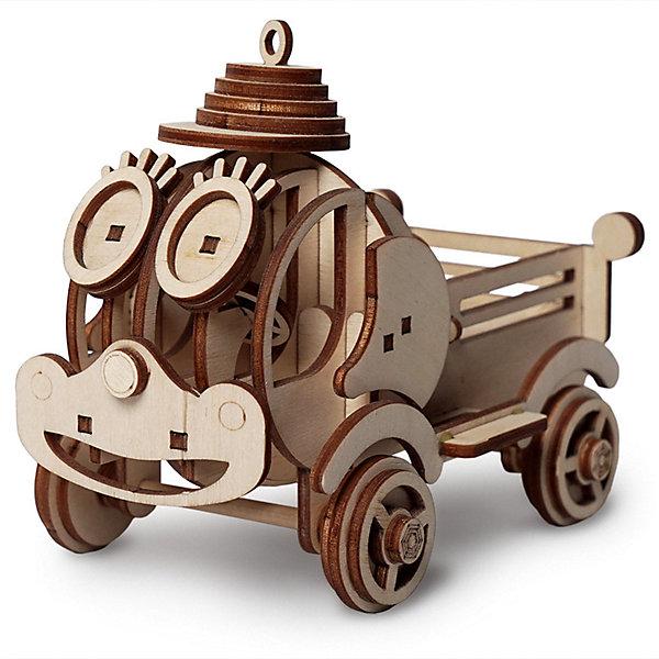 Деревянный  3D конструктор подвижный Грузовик Степа, LemmoДеревянные конструкторы<br>Характеристики товара:<br><br>• количество деталей: 56;<br>• в комплекте: детали, клей ПВА, наждачная бумага, инструкция;<br>• материал: дерево;<br>• размер упаковки: 11х8,5х15,5 см;<br>• вес: 200 грамм;<br>• возраст: от 5 лет.<br>• страна производства: Россия<br><br>Грузовичок Степа - веселая машинка, которая прекрасно подойдет для игр. Для создания фигурки необходимо соединить 56 деталей с помощью клея. Колеса фигурки подвижны, поэтому ребенок сможет катать Степу практически по любой поверхности. Фигурку можно покрасить гуашью или акриловыми красками.<br><br>В набор входят детали для сборки, наждачная бумага, инструкция и клей ПВА. Детали выполнены из экологически чистой древесины с приятным запахом дерева. Занятия с 3D конструктором хорошо развивают логическое мышление, пространственное восприятие, моторику рук, предметное моделирование и усидчивость. Набор рекомендуется детям от пяти лет.<br><br>Деревянный  3D конструктор подвижный Грузовик Степа, Lemmo (Леммо) можно купить в нашем интернет-магазине.<br><br>Ширина мм: 155<br>Глубина мм: 85<br>Высота мм: 110<br>Вес г: 200<br>Возраст от месяцев: 60<br>Возраст до месяцев: 2147483647<br>Пол: Унисекс<br>Возраст: Детский<br>SKU: 6918941