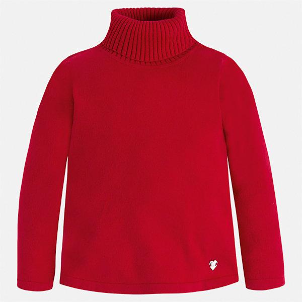 Водолазка Mayoral для девочкиВодолазки<br>Характеристики товара:<br><br>• цвет: красный<br>• состав ткани: 80% хлопок, 17% полиамид, 3% эластан<br>• сезон: демисезон<br>• особенности: высокий ворот<br>• длинные рукава<br>• страна бренда: Испания<br>• страна изготовитель: Индия<br><br>Красный детский свитер сделан из дышащего приятного на ощупь материала. Благодаря продуманному крою детского свитера создаются комфортные условия для тела. Свитер с высоким воротом для девочки отличается стильным продуманным дизайном.<br><br>Свитер для девочки Mayoral (Майорал) можно купить в нашем интернет-магазине.<br><br>Ширина мм: 190<br>Глубина мм: 74<br>Высота мм: 229<br>Вес г: 236<br>Цвет: красный<br>Возраст от месяцев: 18<br>Возраст до месяцев: 24<br>Пол: Женский<br>Возраст: Детский<br>Размер: 92,134,128,122,116,110,104,98<br>SKU: 6919944