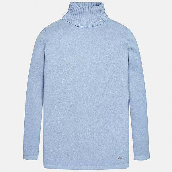 Водолазка для девочки MayoralВодолазки<br>Характеристики товара:<br><br>• цвет: голубой<br>• состав ткани: 80% хлопок, 17% полиамид, 3% эластан<br>• сезон: демисезон<br>• особенности: высокий ворот<br>• длинные рукава<br>• страна бренда: Испания<br>• страна изготовитель: Индия<br><br>Голубой свитер для девочки от Майорал подарит ребенку комфорт и тепло. Детский свитер отличается лаконичным дизайном. В однотонном свитере для девочки от испанской компании Майорал ребенок будет выглядеть модно, а чувствовать себя удобно. <br><br>Свитер для девочки Mayoral (Майорал) можно купить в нашем интернет-магазине.<br><br>Ширина мм: 190<br>Глубина мм: 74<br>Высота мм: 229<br>Вес г: 236<br>Цвет: голубой<br>Возраст от месяцев: 96<br>Возраст до месяцев: 108<br>Пол: Женский<br>Возраст: Детский<br>Размер: 128/134,170,164,158,152,140<br>SKU: 6920045
