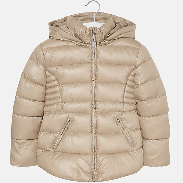 Куртка для девочки MayoralВерхняя одежда<br>Характеристики товара:<br><br>• цвет: коричневый<br>• состав ткани: 100% полиэстер<br>• подкладка: 100% полиэстер<br>• утеплитель: 100% полиэстер<br>• сезон: демисезон<br>• температурный режим: от -10 до +10<br>• особенности куртки: дутая, с капюшоном<br>• капюшон: съемный<br>• застежка: молния<br>• страна бренда: Испания<br>• страна изготовитель: Индия<br><br>Однотонная детская куртка подойдет для прохладной погоды и небольшого мороза. Благодаря качественной ткани детской куртки для девочки создаются комфортные условия для тела. Стильная девочки для девочки отличается стильным продуманным дизайном.<br><br>Куртку для девочки Mayoral (Майорал) можно купить в нашем интернет-магазине.<br><br>Ширина мм: 356<br>Глубина мм: 10<br>Высота мм: 245<br>Вес г: 519<br>Цвет: бежевый<br>Возраст от месяцев: 96<br>Возраст до месяцев: 108<br>Пол: Женский<br>Возраст: Детский<br>Размер: 128/134,170,164,158,152,140<br>SKU: 6920129