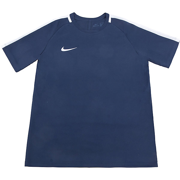 Футболка NIKEСпортивная форма<br>Характеристики товара:<br><br>• цвет: синий<br>• состав ткани: 100% полиэстер<br>• сезон: лето<br>• особенности модели: спортивный стиль<br>• технология: Dri-FIT<br>• короткие рукава<br>• страна бренда: США<br>• страна изготовитель: Китай<br><br>Стильная футболка от Nike может выступать в роли тренировочной одежды. Эта модель детской футболки поможет обеспечить ребенку комфорт. Детская спортивная футболка Nike отличается актуальным для нового сезона дизайном. В синей футболке для ребенка он будет выглядеть модно, а чувствовать себя - комфортно. <br><br>Футболку Nike (Найк) можно купить в нашем интернет-магазине.<br><br>Ширина мм: 199<br>Глубина мм: 10<br>Высота мм: 161<br>Вес г: 151<br>Цвет: черный<br>Возраст от месяцев: 84<br>Возраст до месяцев: 96<br>Пол: Унисекс<br>Возраст: Детский<br>Размер: 122/128,158/170,147/158,135/140,128/134<br>SKU: 6921124