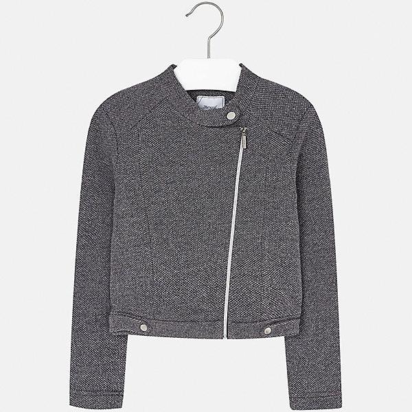 Куртка для девочки MayoralВерхняя одежда<br>Характеристики товара:<br><br>• цвет: серебристый<br>• состав ткани: 70% хлопок, 14% акрил, 7% металлизированная нить, 5% полиамид, 2% вискоза, 2% полиэстер<br>• длинные рукава<br>• сезон: круглый год<br>• застежка: молния<br>• страна бренда: Испания<br>• страна изготовитель: Индия<br><br>Эта детская куртка выделяется стильным ассиметричным кроем. Отличный способ обеспечить ребенку тепло и комфорт - надеть модную курточку от Mayoral. <br><br>Для производства детской одежды популярный бренд Mayoral используют только качественную фурнитуру и материалы. Оригинальные и модные вещи от Майорал неизменно привлекают внимание и нравятся детям.<br><br>Куртку для девочки Mayoral (Майорал) можно купить в нашем интернет-магазине.<br><br>Ширина мм: 356<br>Глубина мм: 10<br>Высота мм: 245<br>Вес г: 519<br>Цвет: серый<br>Возраст от месяцев: 96<br>Возраст до месяцев: 108<br>Пол: Женский<br>Возраст: Детский<br>Размер: 128/134,170,164,158,152,140<br>SKU: 6921906