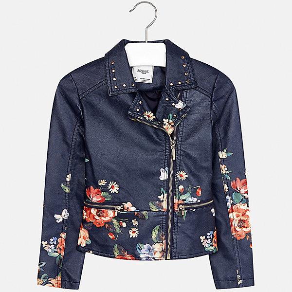 Куртка Mayoral для девочкиВерхняя одежда<br>Характеристики товара:<br><br>• цвет: оранжевый<br>• состав ткани: 100% полиуретан, подклад - 100% полиэстер<br>• застежка: молния<br>• длинные рукава<br>• сезон: демисезон<br>• страна бренда: Испания<br>• страна изготовитель: Индия<br><br>Стильная куртка с косой молнией для девочки от Майорал поможет обеспечить тепло и комфорт. Эффектная детская куртка отличается стильным принтом. <br><br>Детская одежда от испанской компании Mayoral отличаются оригинальным и всегда стильным дизайном. Качество продукции неизменно очень высокое.<br><br>Куртку для девочки Mayoral (Майорал) можно купить в нашем интернет-магазине.<br><br>Ширина мм: 356<br>Глубина мм: 10<br>Высота мм: 245<br>Вес г: 519<br>Цвет: оранжевый<br>Возраст от месяцев: 108<br>Возраст до месяцев: 120<br>Пол: Женский<br>Возраст: Детский<br>Размер: 140,128/134,152,158,164,170<br>SKU: 6921996