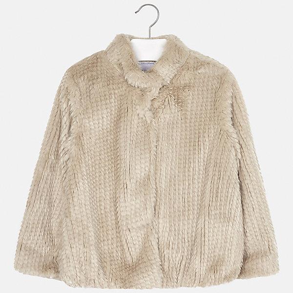Куртка Mayoral для девочкиВерхняя одежда<br>Характеристики товара:<br><br>• цвет: коричневый<br>• состав ткани: 70% модакрил , 30% полиэстер, подклад - 100% полиэстер<br>• застежка: молния<br>• длинные рукава<br>• сезон: демисезон<br>• температурный режим: от -5 до +5<br>• страна бренда: Испания<br>• страна изготовитель: Индия<br><br>Коричневая пушистая куртка для девочки от Майорал поможет обеспечить тепло и комфорт. Эффектная детская куртка отличается свободным силуэтом. <br><br>Для производства детской одежды популярный бренд Mayoral использует только качественную фурнитуру и материалы. Оригинальные и модные вещи от Майорал неизменно привлекают внимание и нравятся детям.<br><br>Куртку для девочки Mayoral (Майорал) можно купить в нашем интернет-магазине.<br><br>Ширина мм: 356<br>Глубина мм: 10<br>Высота мм: 245<br>Вес г: 519<br>Цвет: коричневый<br>Возраст от месяцев: 96<br>Возраст до месяцев: 108<br>Пол: Женский<br>Возраст: Детский<br>Размер: 128/134,170,164,158,152,140<br>SKU: 6922045