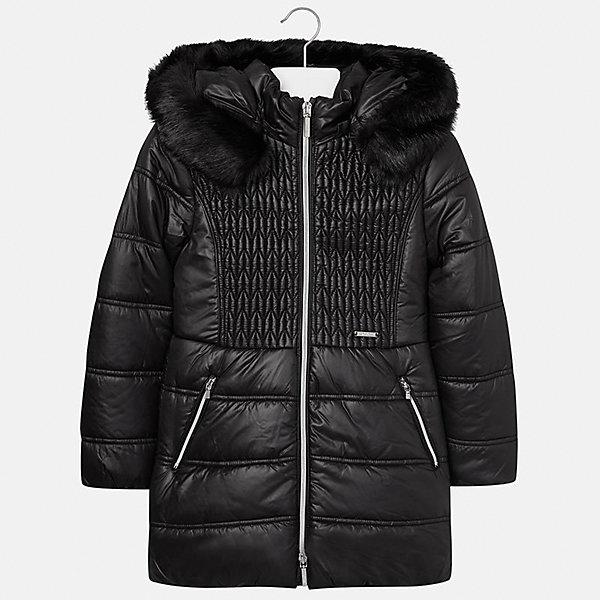 Купить Куртка Mayoral для девочки, Китай, черный, 128/134, 170, 164, 158, 152, 140, Женский