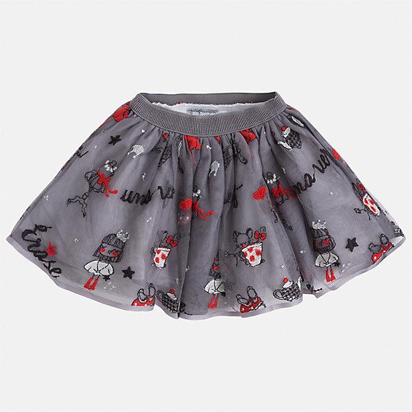 Юбка для девочки MayoralЮбки<br>Характеристики товара:<br><br>• цвет: серый<br>• состав ткани: 100% полиэстер, подклад - 60% хлопок, 40% полиэстер<br>• сезон: круглый год<br>• пояс: резинка<br>• страна бренда: Испания<br>• страна изготовитель: Индия<br><br>Детская одежда может быть стильной и удобной. Эта юбка - отличный вариант одежды для торжественных случаев или прогулок.<br><br>В одежде от испанской компании Майорал ребенок будет выглядеть модно, а чувствовать себя - комфортно. Целая команда европейских талантливых дизайнеров работает над созданием стильных и оригинальных моделей одежды.<br><br>Юбку для девочки Mayoral (Майорал) можно купить в нашем интернет-магазине.<br><br>Ширина мм: 207<br>Глубина мм: 10<br>Высота мм: 189<br>Вес г: 183<br>Цвет: серый<br>Возраст от месяцев: 60<br>Возраст до месяцев: 72<br>Пол: Женский<br>Возраст: Детский<br>Размер: 116,134,128,122,110,104,98,92<br>SKU: 6923049