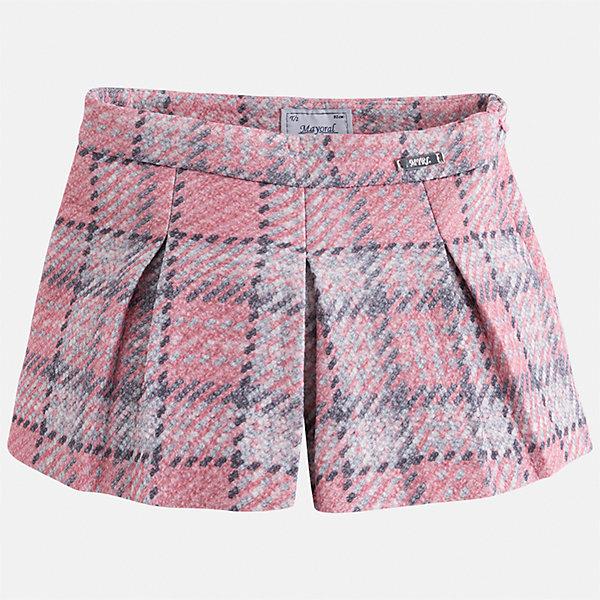 Юбка-шорты Mayoral для девочкиЮбки<br>Характеристики товара:<br><br>• цвет: розовый<br>• состав ткани: 85% хлопок, 15% полиэстер<br>• сезон: круглый год<br>• застежка: молния<br>• юбка-шорты<br>• страна бренда: Испания<br>• страна изготовитель: Индия<br><br>Эта оригинальная юбка-шорты отличается стильным силуэтом. Детская юбка от бренда Майорал поможет девочке выглядеть женственно и стильно. <br><br>Детская одежда от испанской компании Mayoral отличаются оригинальным и всегда стильным дизайном. Качество продукции неизменно очень высокое.<br><br>Юбку для девочки Mayoral (Майорал) можно купить в нашем интернет-магазине.<br><br>Ширина мм: 207<br>Глубина мм: 10<br>Высота мм: 189<br>Вес г: 183<br>Цвет: розовый<br>Возраст от месяцев: 84<br>Возраст до месяцев: 96<br>Пол: Женский<br>Возраст: Детский<br>Размер: 128,104,134,122,116,110<br>SKU: 6923153