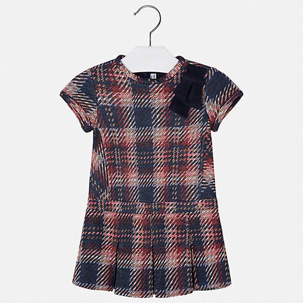 Платье Mayoral для девочкиОсенне-зимние платья и сарафаны<br>Характеристики товара:<br><br>• цвет: черный<br>• состав ткани: 85% хлопок, 15% полиэстер<br>• сезон: круглый год<br>• короткие рукава<br>• застежка: молния<br>• страна бренда: Испания<br>• страна изготовитель: Индия<br><br>Такое детское платье сшито из материала с преобладанием натурального хлопка в составе. Детское платье от бренда Майорал поможет девочке выглядеть женственно и стильно. <br><br>В одежде от испанской компании Майорал ребенок будет выглядеть модно, а чувствовать себя - комфортно. Целая команда европейских талантливых дизайнеров работает над созданием стильных и оригинальных моделей одежды.<br><br>Платье для девочки Mayoral (Майорал) можно купить в нашем интернет-магазине.<br>Ширина мм: 236; Глубина мм: 16; Высота мм: 184; Вес г: 177; Цвет: синий/красный; Возраст от месяцев: 96; Возраст до месяцев: 108; Пол: Женский; Возраст: Детский; Размер: 134,92,98,104,110,116,122,128; SKU: 6923383;