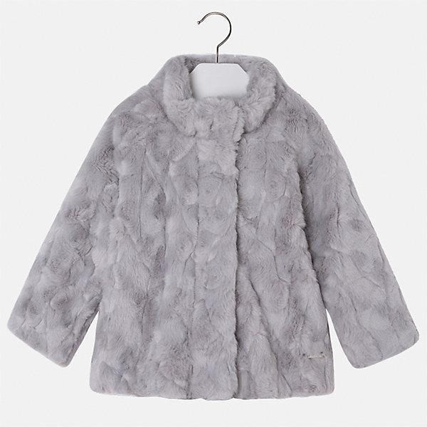 Куртка для девочки MayoralВерхняя одежда<br>Характеристики товара:<br><br>• цвет: серый<br>• состав ткани: 100% акрил, подклад - 65% полиэстер, 35% акрил<br>• застежка: молния<br>• длинные рукава<br>• сезон: демисезон<br>• температурный режим: от 0 до -10С<br>• страна бренда: Испания<br>• страна изготовитель: Индия<br><br>Модная куртка сделана из качественного материала. Такая куртка для девочки от бренда Майорал поможет ребенку выглядеть модно и чувствовать себя комфортно. <br><br>Для производства детской одежды популярный бренд Mayoral использует только качественную фурнитуру и материалы. Оригинальные и модные вещи от Майорал неизменно привлекают внимание и нравятся детям.<br><br>Куртку для девочки Mayoral (Майорал) можно купить в нашем интернет-магазине.<br>Ширина мм: 356; Глубина мм: 10; Высота мм: 245; Вес г: 519; Цвет: серый; Возраст от месяцев: 18; Возраст до месяцев: 24; Пол: Женский; Возраст: Детский; Размер: 92,134,128,122,116,110,104,98; SKU: 6924456;