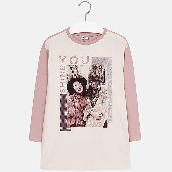 Платье для девочки MayoralОсенне-зимние платья и сарафаны<br>Характеристики товара:<br><br>• цвет: розовый<br>• состав ткани: 78% полиэстер, 15% хлопок, 7% эластан, подкладка - 60% хлопок, 40% полиэстер<br>• сезон: демисезон<br>• особенности: принт, стразы<br>• длинные рукава<br>• страна бренда: Испания<br>• страна изготовитель: Индия<br><br>Модное платье для девочки от Майорал отличается свободной посадкой. В таком платье для девочки от бренда Майорал ребенок будет выглядеть стильно. Детское платье выделяется модным и продуманным дизайном. <br><br>Платье для девочки Mayoral (Майорал) можно купить в нашем интернет-магазине.<br>Ширина мм: 236; Глубина мм: 16; Высота мм: 184; Вес г: 177; Цвет: розовый; Возраст от месяцев: 168; Возраст до месяцев: 180; Пол: Женский; Возраст: Детский; Размер: 170,164,158,152,140,128/134; SKU: 6925274;