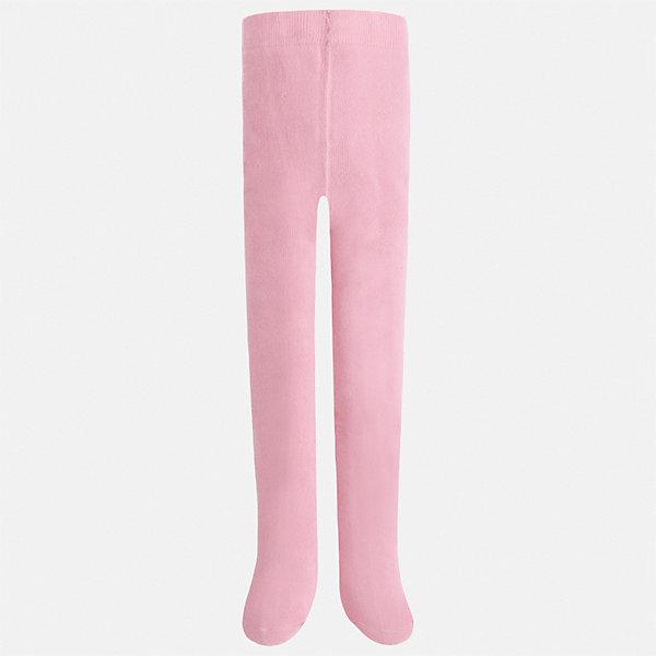 Колготки для девочки MayoralКолготки<br>Характеристики товара:<br><br>• цвет: розовый<br>• состав ткани: 77% хлопок, 20% полиамид, 3% эластан<br>• сезон: круглый год<br>• пояс: резинка<br>• особенности модели: нарядная<br>• страна бренда: Испания<br>• страна изготовитель: Индия<br><br>Розовые колготки для девочки от популярного бренда Mayoral отличаются приятным на ощупь хлопковым трикотажем. Детские колготки смотрятся аккуратно и нарядно.<br><br>В одежде от испанской компании Майорал ребенок будет выглядеть модно, а чувствовать себя - комфортно. Целая команда европейских талантливых дизайнеров работает над созданием стильных и оригинальных моделей одежды. <br><br>Колготки для девочки Mayoral (Майорал) можно купить в нашем интернет-магазине.<br>Ширина мм: 123; Глубина мм: 10; Высота мм: 149; Вес г: 209; Цвет: розовый; Возраст от месяцев: 24; Возраст до месяцев: 36; Пол: Женский; Возраст: Детский; Размер: 92/98,128/134,116/122,104/110; SKU: 6925507;